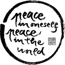 PEACE IN ONESELF  PEACE IN THE WORLD